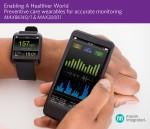 맥심 인터그레이티드 코리아가 질병 예방과 피트니스를 위한 웨어러블 솔루션 MAX86140, MAX86141, MAX30001을 출시했다