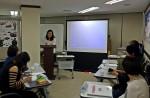 서초여성인력개발센터 강의실에서 진행된 집단상담 프로그램