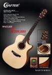 크래프터 기타가 2017년 45주년을 맞아 특별 판매전을 연다. 사진은 크래프터 에이블 시리즈의 대표 모델 KTXE 650 Able