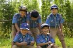 청소년단체활동에 참가하는 청소년들