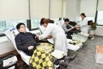 한국교직원공제회 임직원들이 29일 사랑의 헌혈 봉사활동을 펼쳤다