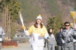 2018 평창 동계올림픽 성화가 30일 전북지역 3일차 일정으로 태권도의 성지 무주에서의 봉송을 성공적으로 마쳤다