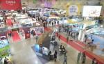 2017 하나투어 여행박람회 부산이 1일 부산 벡스코 제1전시장에서 개막해 사흘간 진행된다
