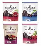 허쉬의 천연 과즙 초콜릿 브랜드 브룩사이드가 새로운 로고와 패키지를 선보였다
