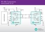 맥심이 두 배 빠른 데이터 전송 지원 트랜시버 신제품을 출시했다