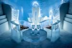 호텔스닷컴 연말연시 여행을  위한 전 세계 이색 호텔 5선을 선정했다.   모두 눈과 얼음을 테마로 운영된다는 공통점이 있다. 스웨덴에 위치한 세계 최초의 아이스 호텔 전경