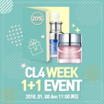 CL4가 새해를 맞아 4일부터 4일 동안 특별 할인 이벤트를 실시한다
