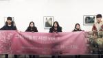 대한사회복지회가 그녀석들의 시선 사진전을 개최했다. 사진은 그녀석들의 시선 사진전에 참가한 입양청소년들과 자원봉사자
