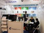 모니터 보안필름 전문기업 아이가드시스템이 2018 홍콩 국제문구전시회에 참가해 글로벌 스마트 오피스산업 관계자들로부터 호평을 받았다. 사진은 2018 홍콩 국제문구전시회 아이가드시스템 부스