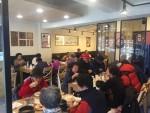 지호한방삼계탕 삼전동점이 17일 서울시 송파구 어르신들께 삼계탕을 대접하는 행사를 진행했다