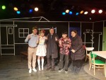 도종환 문화체육관광부 장관이 새해 첫 공연나들이로 대학로의 뮤지컬 사랑은 비를 타고 공연장을 방문했다
