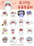 스쿱미디어가 인기 캐릭터 동그리의 신규 이모티콘 시즌 3 동그리는 동글동글해를 신규 런칭했다