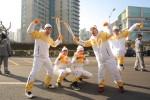 2018 평창 동계올림픽 성화가 월미도 문화의 거리 등 인천 시내 27km를 봉송했다