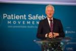 클린턴 재단 창립자이자 미국 42대 대통령 빌 클린턴이 런던에서 열리는 6차 연례 세계 환자안전과학기술서밋에서 6년 연속으로 기조연설을 한다