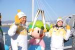 2018 평창 동계올림픽 성화가 29일 아름다운 자연환경과 관광·레저 자원이 풍부한 춘천을 밝히며 봉송을 성공적으로 마쳤다