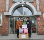 희망사과나무가 책가방 세트를 지원한 혜명보육원 임직원 일동