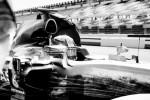 메르세데스-AMG 페트로나스 모터스포츠 차량 표면에 타미 힐피거 로고가 새겨져 았다