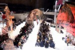 2018년 가을 캘빈클라인 205W39NYC 런웨이 쇼 앞줄