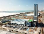 미쓰비시전기주식회사가 인천경제자유구역 송도지구에 KMEC가 건설한 엘리베이터 신공장을 3월 1일부터 가동한다