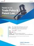 프론테오가 미국 글로벌 로펌 Baker Botts LLP와 공동으로 개최하는 미국 무역 정책 및 특허법 최신 동향 관련 세미나 포스터