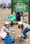 이부자리 탄소상쇄숲 조성 사업 현장