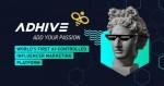 세계 최초의 AdHive AI-제어형 인플루언서 마케팅 플랫폼