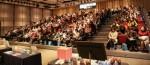강동미즈여성병원이 주최한 태교음악회에 참석한 250여명의 산모
