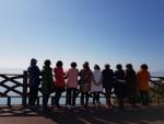 전라남도 고흥반도 바다 관광객들