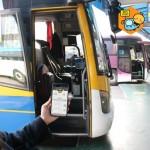 시외버스에 호환되고 있는 버스타고 서비스