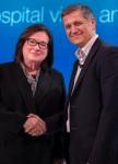 제6차 세계 환자안전 과학기술 서밋에 줄리 모라스 HQI 회장 겸 CEO와 조 키아니 환자안전활동재단 설립자 겸 회장이 참석했다