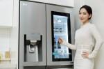 LG전자가 출시한 LG 디오스 양문형 얼음정수기냉장고