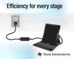 TI가 출시한 1MHz 능동 클램프 플라이백 칩셋과 6A 3레벨 벅 배터리 충전 IC