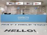에스티유니타스가 오픈한 커넥츠 캠퍼스의 통합 데스크