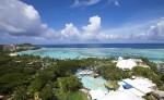 괌 해변 전경