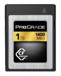 프로그레이드 디지털이 1TB 용량의 CFexpress 1.0 기술을 NAB에서 공개한 최초의 기업이 됐다