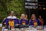 베코가 유로쿠치나 전시회에서 후원 파트너인 FC 바르셀로나, 영국의 여배우 겸 저명한 셰프 리사 포크너, 이탈리아 최고의 셰프 알레산드로 보르게세와 함께 하는 요리행사를 진행했다