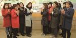 동구보건소에서 진행한 살나눔 프로젝트에 참여한 주민들이 감량 체중만큼 기부한 뒤 기념 촬영을 하고 있다