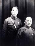 난징 중앙육군군관학교 근무 시절의 신건식(왼쪽)과 박찬익