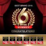 보쉬가 아우토 모토 운트 스포트가 실시한 2018 베스트 카 어워드 독자 투표에서 6개 부문 2018년 베스트 브랜드로 선정되었다