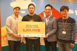 이태원 치킨윙전문점을 운영하고 있는 네키드크루가 제2회 네키드 펀드레이저 미스터리 박스 이벤트를 개최해 파티 소익금 130만원을 10일 부평에 위치한 해피홈보육원 아이들에게 전달했다