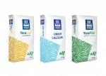 야라코리아의 주력 비료 제품 3종(야라리바 나이트라보, 야라 유니카 칼슘, 야라밀라 컴플렉스)