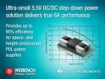 TI 5.5V 스텝 다운 전력 모듈 제품