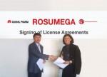 건일제약이 이태리 S.p.A와 로수메가 연질캡슐에 대한 라이센싱 및 수출 계약을 체결했다