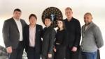 타이토스 에스토니아 본사에서 문테크 기업과 함께 한 에드워드 권 대표(사진 가운데)
