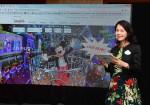 홍콩 디즈니랜드는 28일 오전 서울 소공동 롯데호텔서 국내 미디어를 대상으로 미디어 브리핑을 개최했다. 홍콩 디즈니랜드 리조트 커뮤니케이션 및 공공 부문 부사장 린다 초이가 리조트의 최신 엔터테인먼트 및 어트랙션 등을 소개하고 있다
