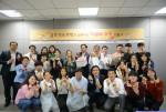 사랑의 쿠키 나눔 봉사에 참여한 금호석유화학 임직원들
