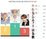 6월 1주차 베스트 아이돌 투표 결과