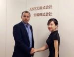 일본 도쿄에서 만난 쉬레스타 City 대표와 다나 리 Mixin COO