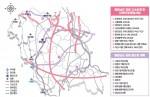 충남 장래 고속도로 및 철도계획(충남연구원 발간 정책지도 23호)