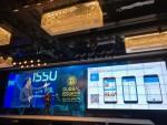 글로벌이슈2018에서 김성수 CEO가 오투오페이 서비스의 핵심기술 설명과 비전 계획을 발표하고 있다